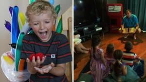 Monsieur S le magien pour enfants - Réactions au spectacle de monsieur S
